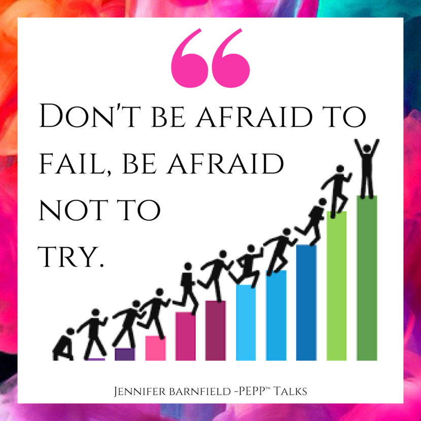 Afraid To Try - Jennifer Barnfield - The PEPP Method