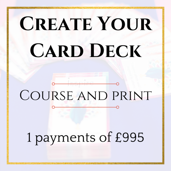 Create Your Card Pack Course